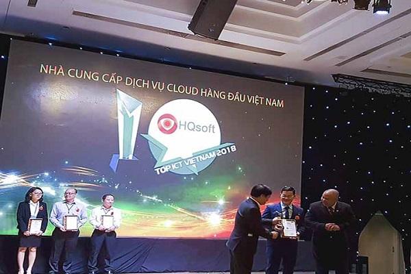 Giải thưởng Top ICT Cloud hàng đầu