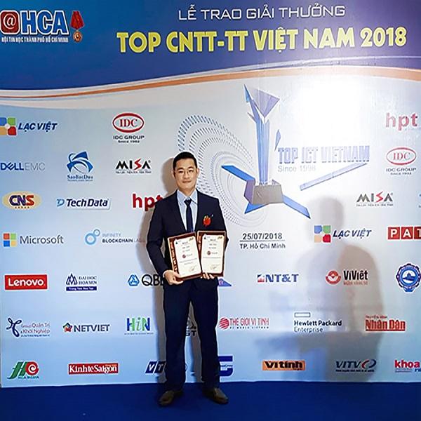 Giải thưởng Top ICT Việt Nam 2018