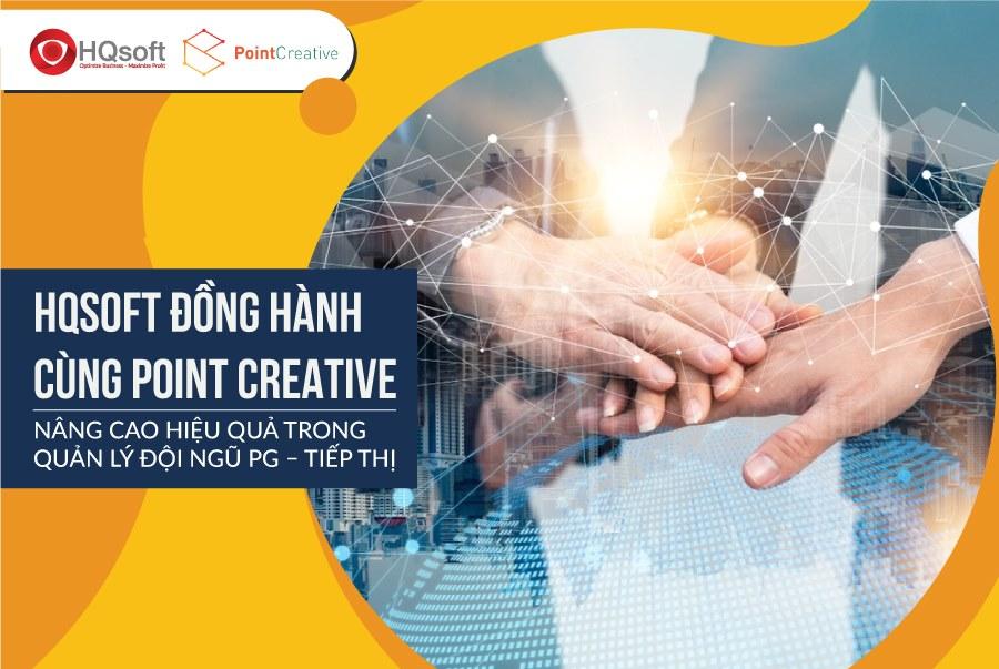 HQsoft bắt tay với Point Creative trong quản lý đội ngũ PG – Tiếp thị